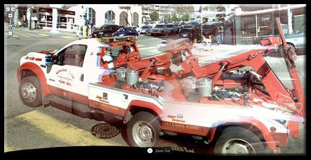 Google Street View Hybrid Truck