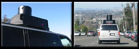 Mysterious Google Street View Camera Van