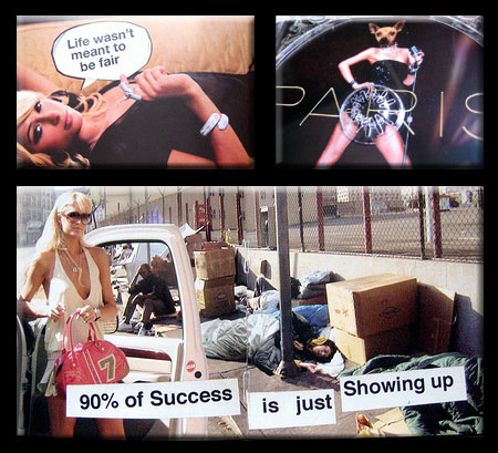 Banksy Subverts Paris Hilton CD