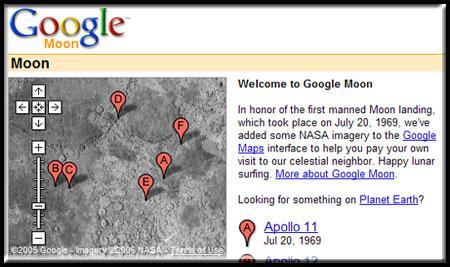 Google Moon Image