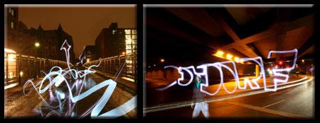 Light Art Graffiti