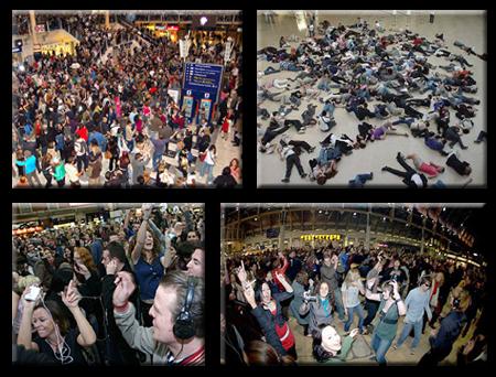 Inexplicable Mob aka Flash Mob
