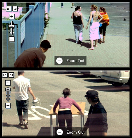 Google Street View Stalkers and Oglers