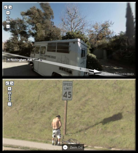 Fact and Fiction on Google Street View