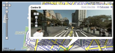 Google Street View Demo