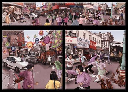 Chinatown Panoramic