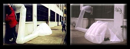 ParaSITE Inflatable and Portable Homeless Dwelling