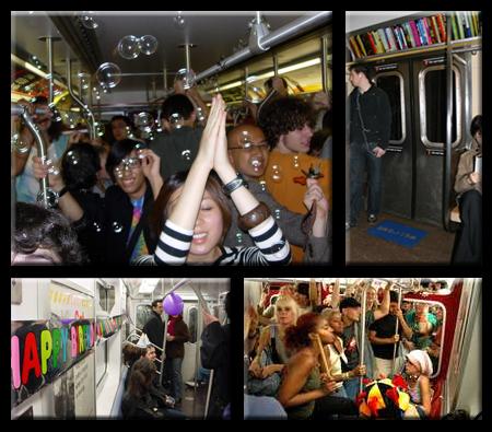 Subway Parties