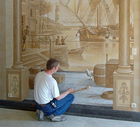3D Interior Painting 3