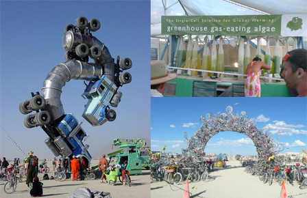 Art and Sustainability at Burning Man