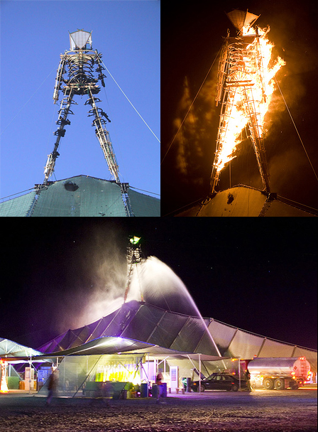 Burning Man Burns Early in 2007