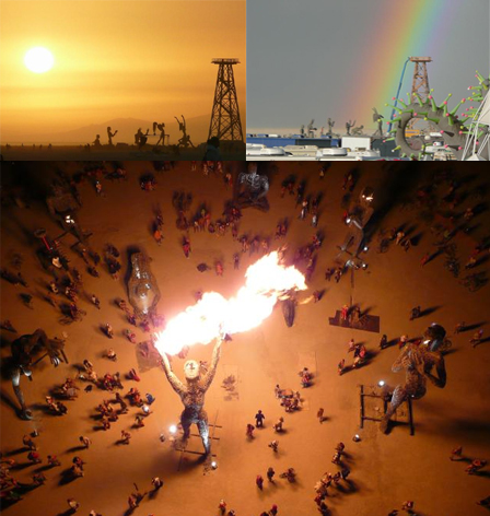 Worshipping the Oil Rig