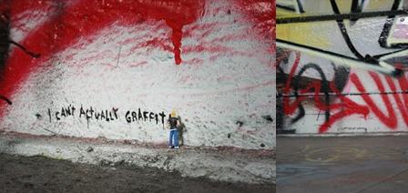 I Cant Actually Graffiti