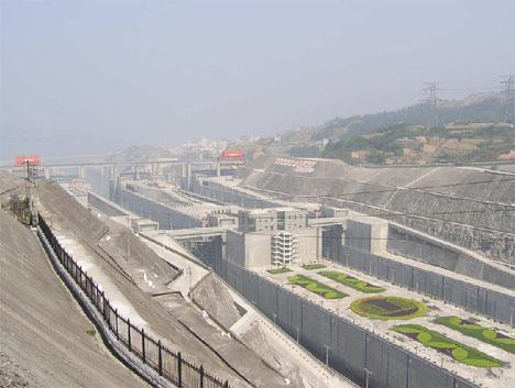 Three Gorges Damn Photo