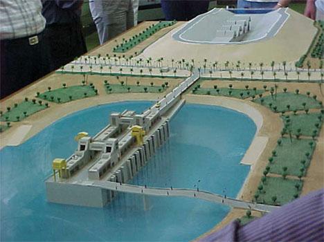Mubrak Pumping Station Model