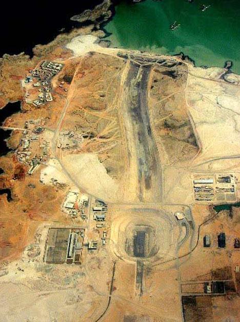 Mubrak Pumpting Station Aerial
