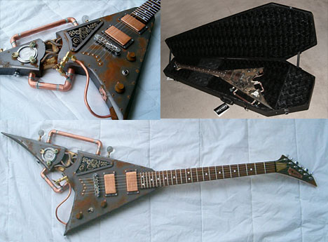 Villianizer Steampunk Guitar