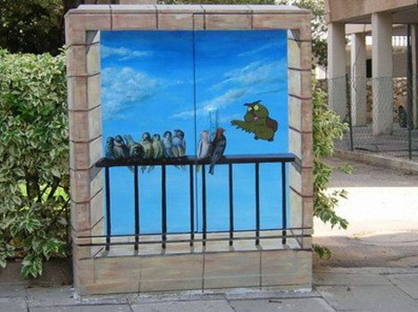 Circuit Box Street Art