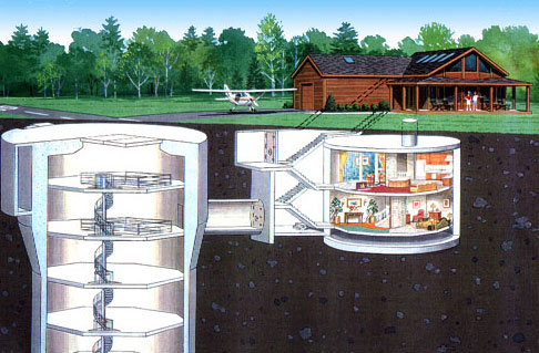 Luxury Home in a Missile Silo