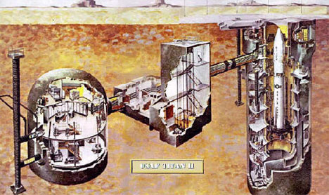Missile Silo Architectural Drawing