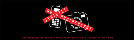 StrictlyNoPhotography