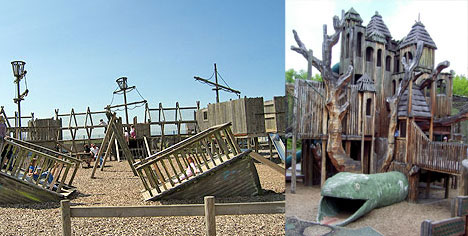Urban Adventure Playgrounds: Cool Places Too Few Kids Play ...