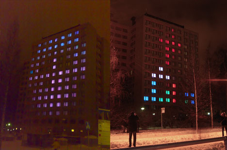 Remote Control Tetris Rooms