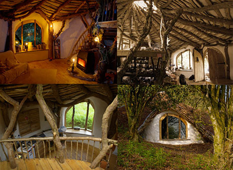 Hobbit Hole House Home Design