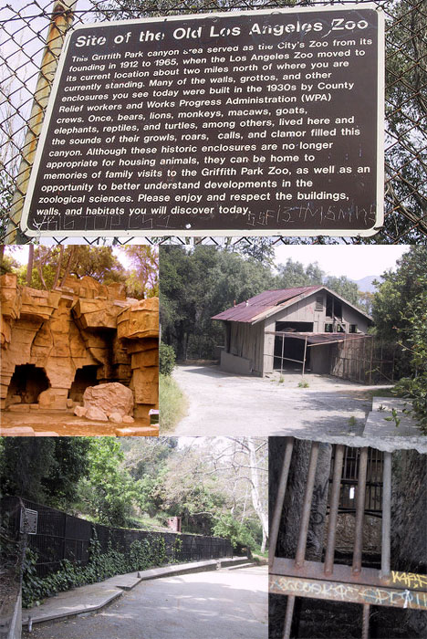 Abandoned Old Zoo Buildings and Enclosures