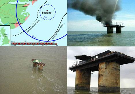 Controversial Sealand Micronation Ocean Platform