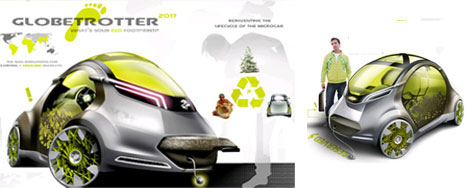 Extremely Ecological Vehicle of the Future