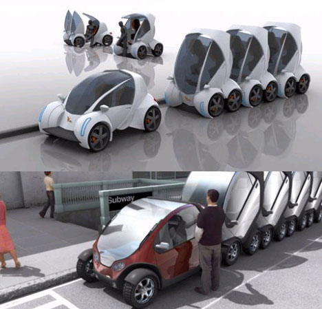 Creative Public Transit Car Project