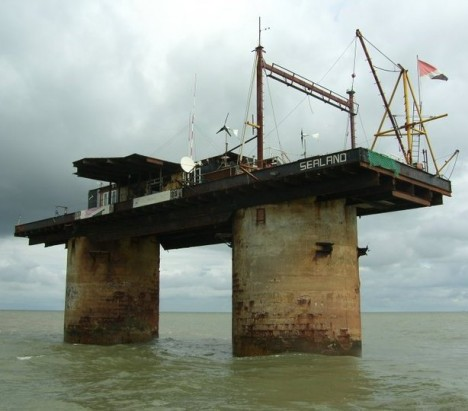 sealand on water