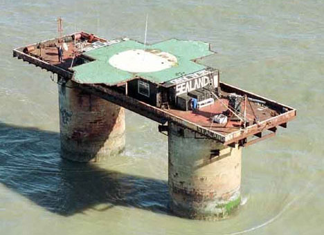 The Infamous Micronation of Sealand Close Up