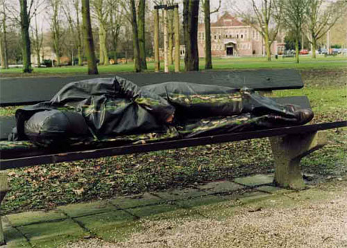 Urban Bench Sleeper Camouflage