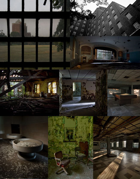 Abandoned American Mental Hospital Buildings