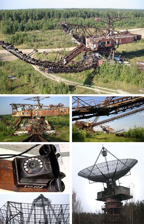 Abandoned Communications and Mining Equipment