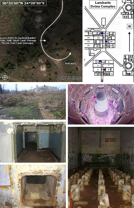 Abandoned Russian Nuclear Missile Silo