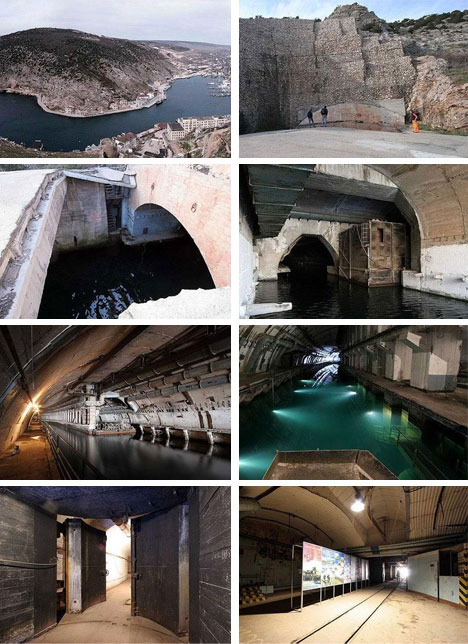 Abandoned Russian Underground Submarine Base