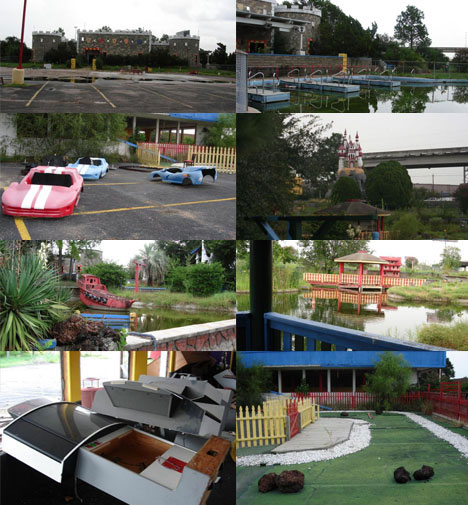 Abandoned Theme Park and Playground