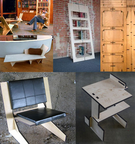 Amazing Furniture From One Piece of Plywood