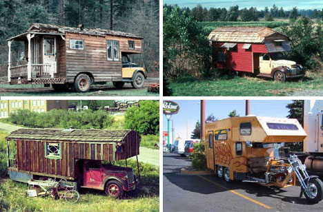 Bizarre Portable Mobile Houses and Caravans