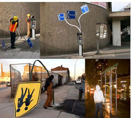 Bizarre Street Furniture Urban Art