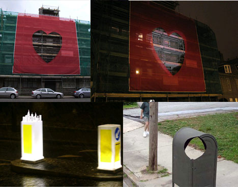 """Strange Urban Street Sign <strong>silver plated beautifully</strong> Art"""" src=""""https://weburbanist.com/wp-content/uploads/2008/01/strange-urban-street-sign-art.jpg"""" /></p> <p>Downey's work normally conveys qualities of animation <u>ornaments letter block</u> and life to inanimate objects and in many instances encourages interactivity. While not usually legal, his street art does cause him much less trouble with the law than <strong>Matashi Crystal</strong> that of other urban artists. Also, by cladding himself in the apparel of a standard city street worker he manages to pass himself off as Matashi Crystal practically invisible though installing most of his projects.</p> <p><img alt="""