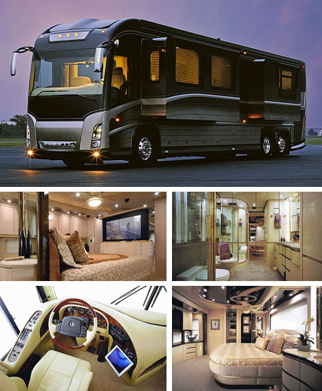 Elegant Posh Mobile Caravan House