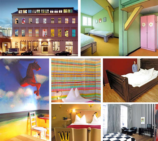 Kunsthotel Art Hotel in Berlin Germany