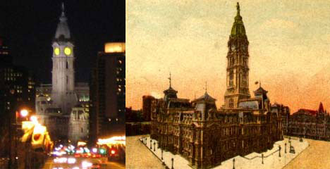 Philadelphia City Hall Drawing