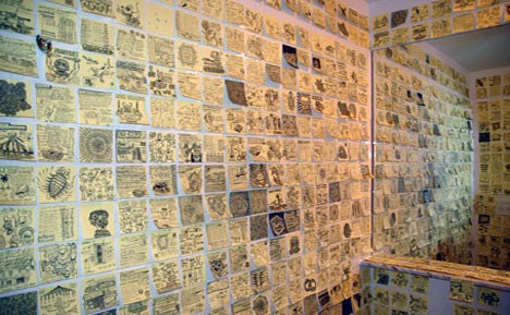 Post It Note Wall Cover Art Tiles