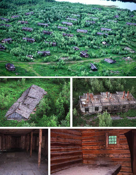 Russian Gulag Abandoned Historical Buildings