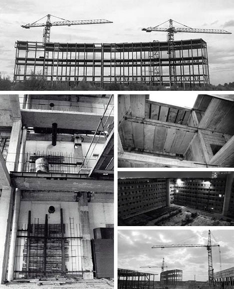 Unfinished Russian Structures Under Construction
